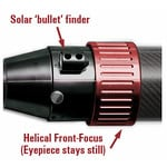 Detail: Solar finder and Helical Front-Focuser