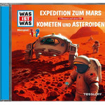 Tessloff-Verlag WAS IST WAS Hörspiel Expedition zum Mars / Kometen und Asteroiden