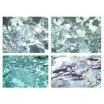 LIEDER Set nr. IV cu 29 preparate microscop, 30x45 mm, cutie din lemn, roci si minerale, roci metamorfice