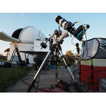 The CEM25 is entirely suitable for astrophotography. The photograph shows the setup used by Bernd Schneider.