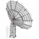 Radio2Space Spider 500A Advanced radiotelescoop met weervaste AZ-montering GoTo