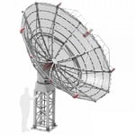 Radio2space Radioteleskop Spider 500A Advanced mit wetterfester AZ-Montierung GoTo