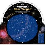 Orion Harta cerului Star Target Planisphere 40-60 degree north