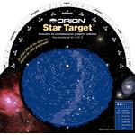 Orion Mapa estelar Star Target para latitudes de 30° a 50° N