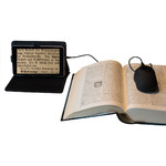 DIGIPHOT Magnifying glass DM-70 digital magnifier with 7 inch tablet & scanning mouse