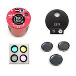 "Caméra ZWO ASI 1600 MMC Cool Mono + EFW8 + LRGB + Ha + SII + OIII 1,25"""
