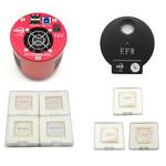 Caméra ZWO ASI 1600 MMC Cool Mono + EFW7 + LRGB + Ha/SII/OIII-Set 36mm
