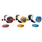 Hier sehen Sie alle Farbvarianten mit aufgesteckter Bahtinovmaske zur Fokussierung.