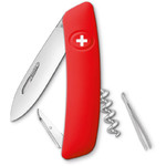 SWIZA D01 Swiss Army Knife, red