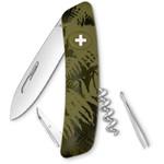 SWIZA C01 Swiss Army Knife, SILVA Camo Fern khaki