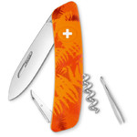 SWIZA C01 Swiss Army Knife, FILIX Camo Fern Orange