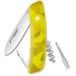 SWIZA C01 Swiss Army Knife, VELOR Camo Urban Moss