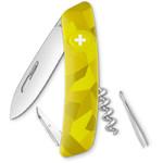 SWIZA Couteau de poche suisse C01 VELOR Camo Urban vert
