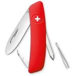 SWIZA Couteau de poche suisse pour enfant J02 rouge