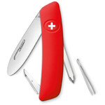 SWIZA J02 Swiss children's pocket knife, red