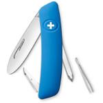 SWIZA Couteau de poche suisse pour enfant J02 bleu
