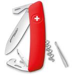 SWIZA J02 Swiss pocket knife, red