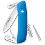 SWIZA Couteau de poche suisse D03 bleu