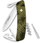 SWIZA C03 Swiss Army Knife, SILVA Camo Fern Khaki