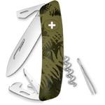 SWIZA Noże Szwajcarski scyzoryk kieszonkowy C03 SILVA paproć maskująca khaki