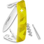Couteaux SWIZA Couteau de poche suisse C03 VELOR Camo Urban vert