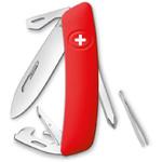 SWIZA Couteau de poche suisse D04 rouge