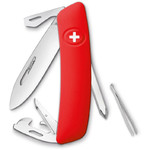 SWIZA D04 Swiss Army Knife, red