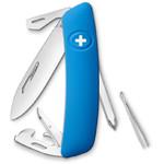 SWIZA Couteau de poche suisse D04 bleu