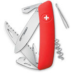 SWIZA D05 Swiss Army Knife, red