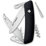 SWIZA D05 Swiss Army Knife, black