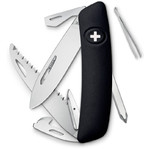 SWIZA D06 Swiss Army Knife, black