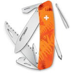 SWIZA C06 Swiss Army Knife, FILIX Camo Fern orange