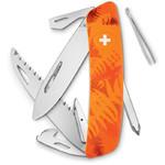 SWIZA Knives C06 Swiss Army Knife, FILIX Camo Fern orange