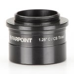 Farpoint 1.25″ nosepiece-to-C /CS mount male adapter