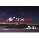 Astroshop voucher at a Value of 250 €