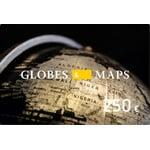 Globen-und-Karten.de voucher in the amount of 250 euro