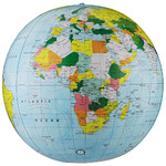 Replogle Globe politique gonflable, 40 cm