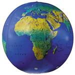 Replogle Globo terráqueo hinchable, topográfico, 58cm