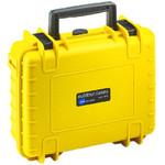 B+W Type 1000 jaune / compartimentée