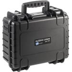 B+W Type 3000 case, black/foam lined
