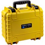 B+W Type 3000 case, yellow/foam lined