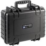 B+W Type 4000 case, black/compartment divisions