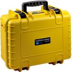 B+W Type 4000 case, yellow/foam lined