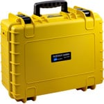 B+W Type 5000 case, yellow/empty