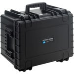 B+W Type 5500 case, black/foam lined