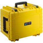 B+W Type 5500 case, yellow/foam lined