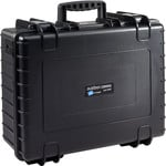 B+W Type 6000 case, black/foam lined