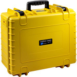 B+W Type 6000 case, yellow/foam lined