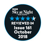 Omegon Mini Track LX2 got 4.5 of 5 stars in Issue 161 of Sky at Night Magazine!