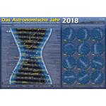 Astronomie-Verlag Plakaty Das Astronomische Jahr 2018